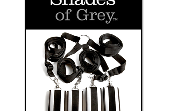 HARD LIMITS – BED RESTRAINT KIT – FIFTY SHADES OF GREY