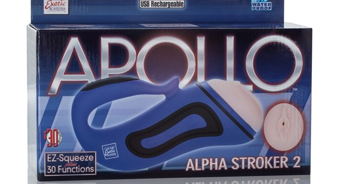 APOLLO ALPHA STROKER 2 VAGIN RECHARGEABLE
