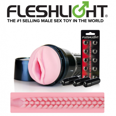 FLESHLIGHT VIBRO ROSE – VAGINAL – TEXTURE TOUCH