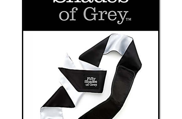 ALL MINE – SATIN DELUXE BLACKOUT BLINDFOLD – FIFTY SHADES OF GREY