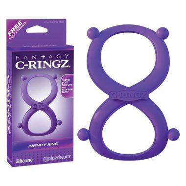 SILICONE INFINITY RING MAUVE – C-RINGZ