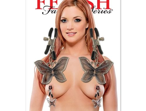 BUTTERFLY NIPPLE CLAMPS – FETISH FANTASY SERIES