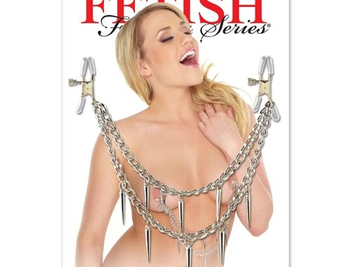 ROCK HARD NIPPLE CLAMPS – FETISH FANTASY SERIES